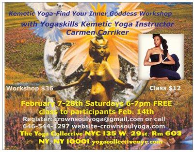 kemetic yoga workshop